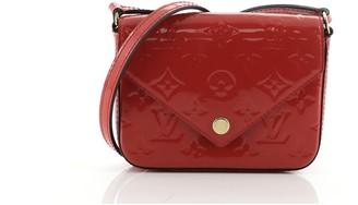 Louis Vuitton Sac Lucie Handbag Monogram Vernis Mini
