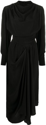 Isabel Marant Draped Midi Dress