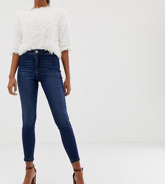 Miss Selfridge Steffi skinny jeans-Blue