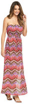 Freya Inferno Bandeau Maxi Dress in Tribal Print Size XS