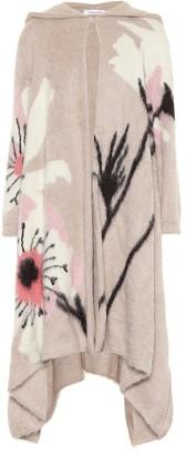 Valentino Embellished mohair-blend coat