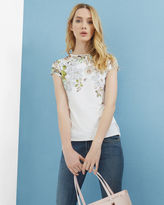 Ted Baker Gem Gardens fitted Tshirt