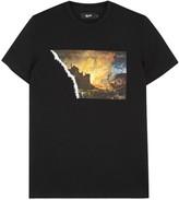 Blood Brother Coalbrookdale Appliquéd Cotton T-shirt