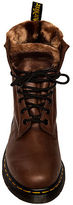 Dr. Martens The Serena Boot with Faux Fur Lining in Brown