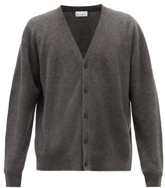 Raey Loose-fit Cashmere Cardigan - Mens - Charcoal
