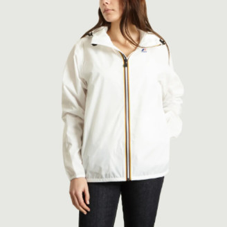 K-Way K Way White Polyester Claude Windbreaker Jacket - xs | polyester | white - White/White