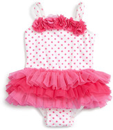 Little Me One-Piece Tutu Swimsuit (Baby Girls)