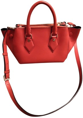 Diane von Furstenberg Red Leather Handbags