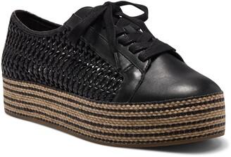 Vince Camuto Merlea Woven Platform Sneaker
