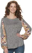 Women's World Unity Sublimated Contrast Balloon Long Sleeve Pullover
