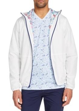 Brooklyn Brigade Men's Slim-Fit Water Repellent Stormy Day Windbreaker Jacket