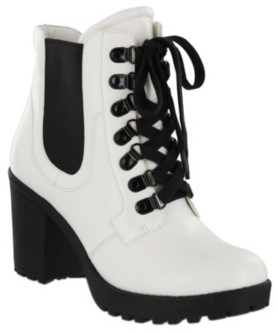 Mia Aden Combat Boots Women's Shoes