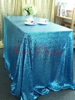 SoarDream Sequin Tablecloth Elegant Sparkly Sequin Table Cloth for Wedding/Party/Christmas