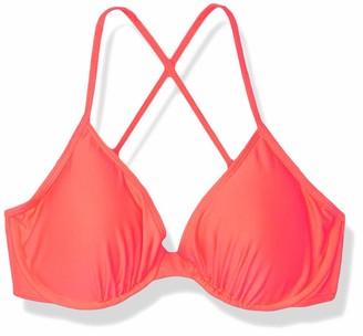 Luli Fama Women's Cosita Buena D-E Underwire Adjustable Bikini Top