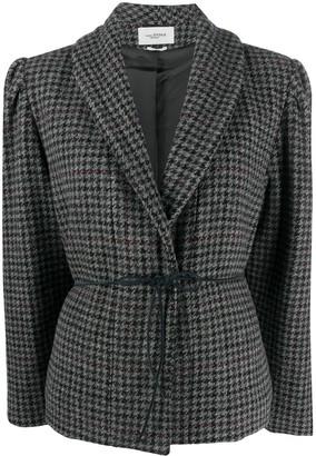 Etoile Isabel Marant Puff Sleeve Tweed Jacket