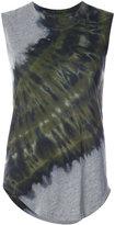 Raquel Allegra tie-dye detail tank top