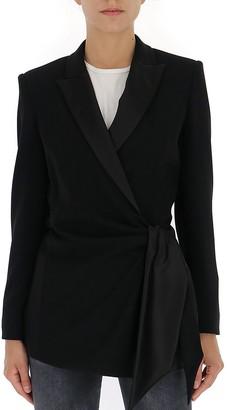 Max Mara Tie Waist Blazer