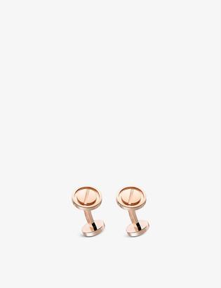 Cartier LOVE 18ct rose-gold cufflinks