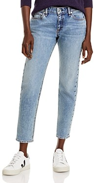 Rag & Bone Dre Low Rise Slim Fit Boyfriend Jeans in Edgecliff