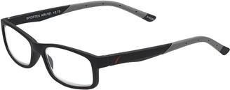 Select A Vision SAV Eyewear (Select-A-Vision) Sportex Performance Rectangular Reading Glasses AR4161 Gray 1.25