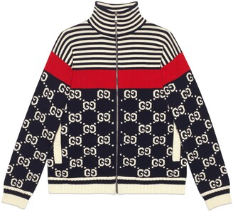 Gucci Cotton GG striped jacket