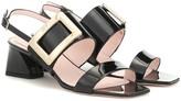 Roger Vivier Gommettine strap leather sandals