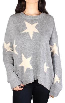 Zadig & Voltaire Markus C Star Cashmere Sweater - Grey