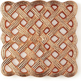 "Horchow ""Woven"" Filigran Coasters, Set of 4"
