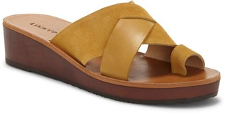 Lucky Brand Heliara Wedge Slide Sandal