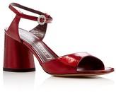 Marc Jacobs Amelia Ankle Strap Block Heel Sandals