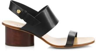 Rag & Bone City Leather Slingback Sandals