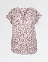 Fat Face Vanessa Brushed Floral Blouse