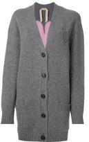 No.21 oversized cardigan - women - Wool - 42
