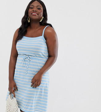 Junarose stripe sun dress
