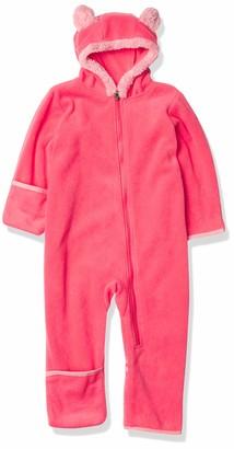 Columbia unisex baby Tiny Bear II Bunting Fleece Jacket