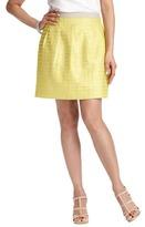 LOFT Lurex Dot Pleated Full Skirt