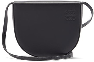 Loewe Heel Small Leather Cross-body Bag - Black
