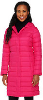 Isaac Mizrahi Live! Packable Down Coat with Hood