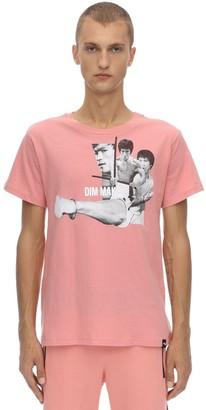 Lee Bruce Fist Cotton Jersey T-Shirt