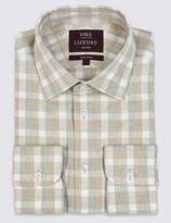 M&S Collection LuxuryMarks and Spencer Cotton Rich Tailored Fit Shirt