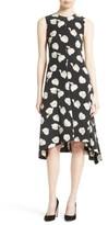 Theory Women's Nophella B Harper Print Silk Dress