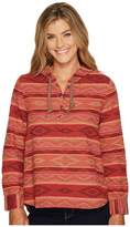 Woolrich First Light Jacquard Hoodie Women's Sweatshirt