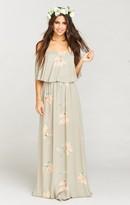 MUMU Hacienda Maxi Dress ~ Lily Showers