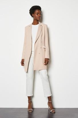 Karen Millen Double-Breasted Tuxedo Jacket