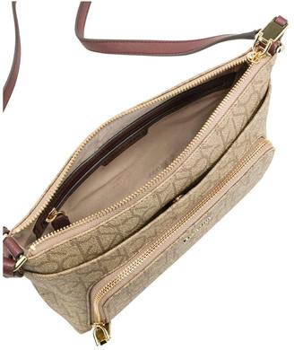 Calvin Klein H7DEJ2CB_MER Hudson Zip Top Crossbody Bag