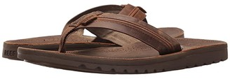 Reef Voyage Lux (Brown/Brown) Men's Sandals