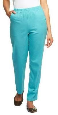 Denim & Co. Original Waist Stretch Tall Pants w/ Side Pockets