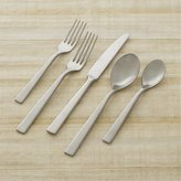 Crate & Barrel Clark Satin 5-Piece Flatware Place Setting