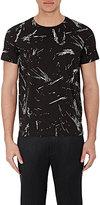 Theory Men's Paint-Splatter-Print Marcelo T-Shirt-BLACK