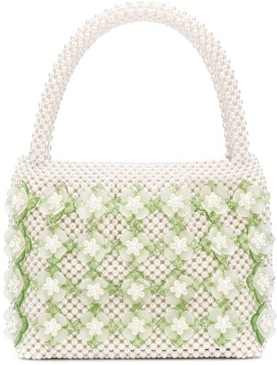 Shrimps Thelma bead embellished bag